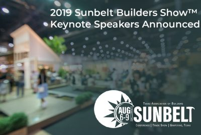 Sunbelt Builders Show Speakers