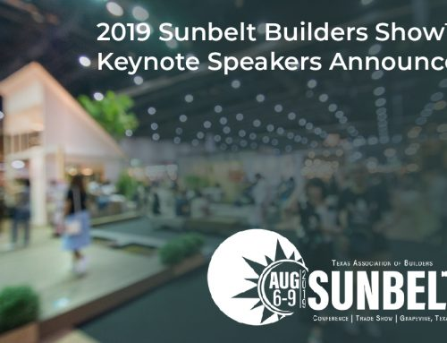 2019 Sunbelt Builders Show™ Keynote Speakers