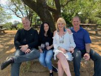 sonoma dry creek valley wine tasting - beverly and steve smirnis