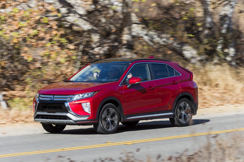 2018 Mitsubishi Eclipse Cross Launch SUV