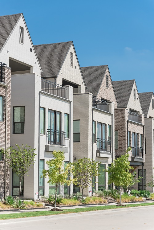 new dallas townhomes