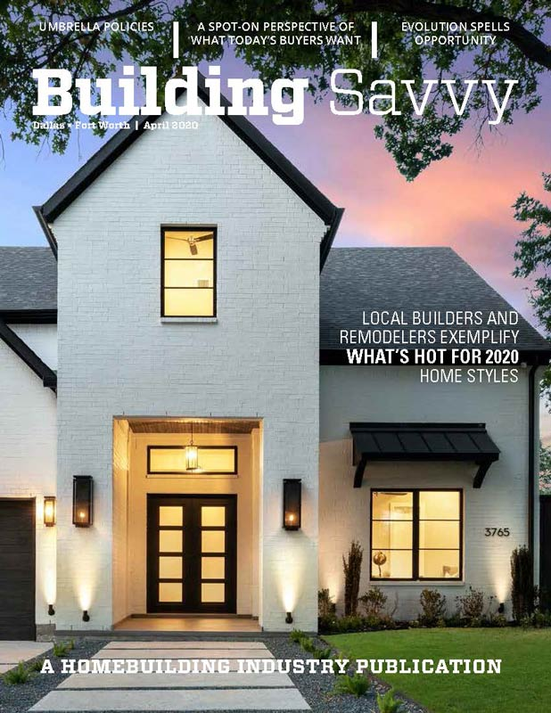 Building Savvy - April 2020 - The Savvy List Magazine